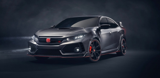 Японский хот-хэтч Honda Civic Type R стал рекордсменом на 5 автодромах
